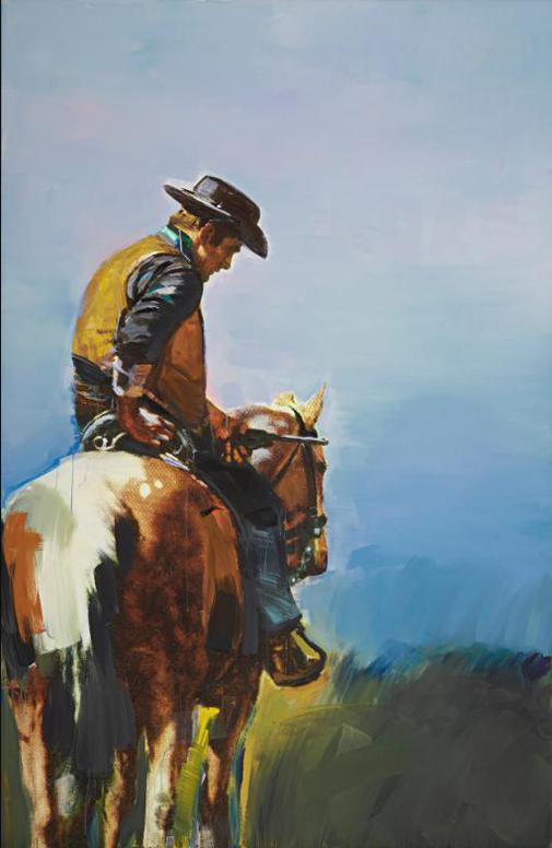 Richard Prince-Untitled (Cowboy)-2012