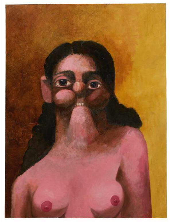 George Condo-Mary-2004