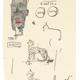 Jean-Michel Basquiat-Untitled-1985