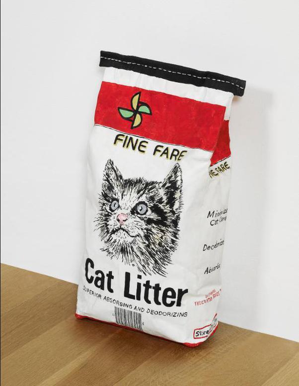 Robert Gober-Cat Litter-1990