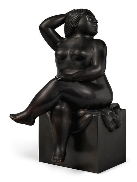 Fernando Botero-Seated Woman-2004