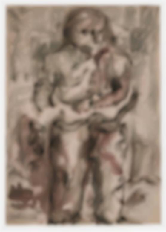 Georg Baselitz-Untitled-1967