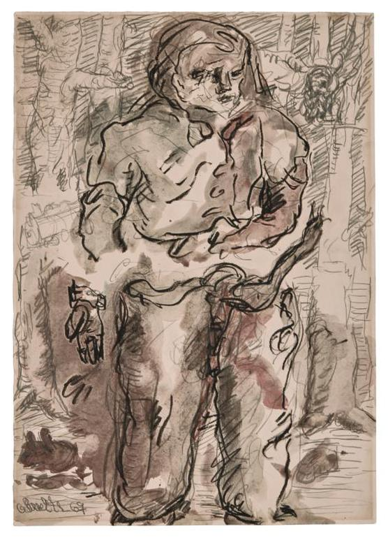 Georg Baselitz-Untitled-1967