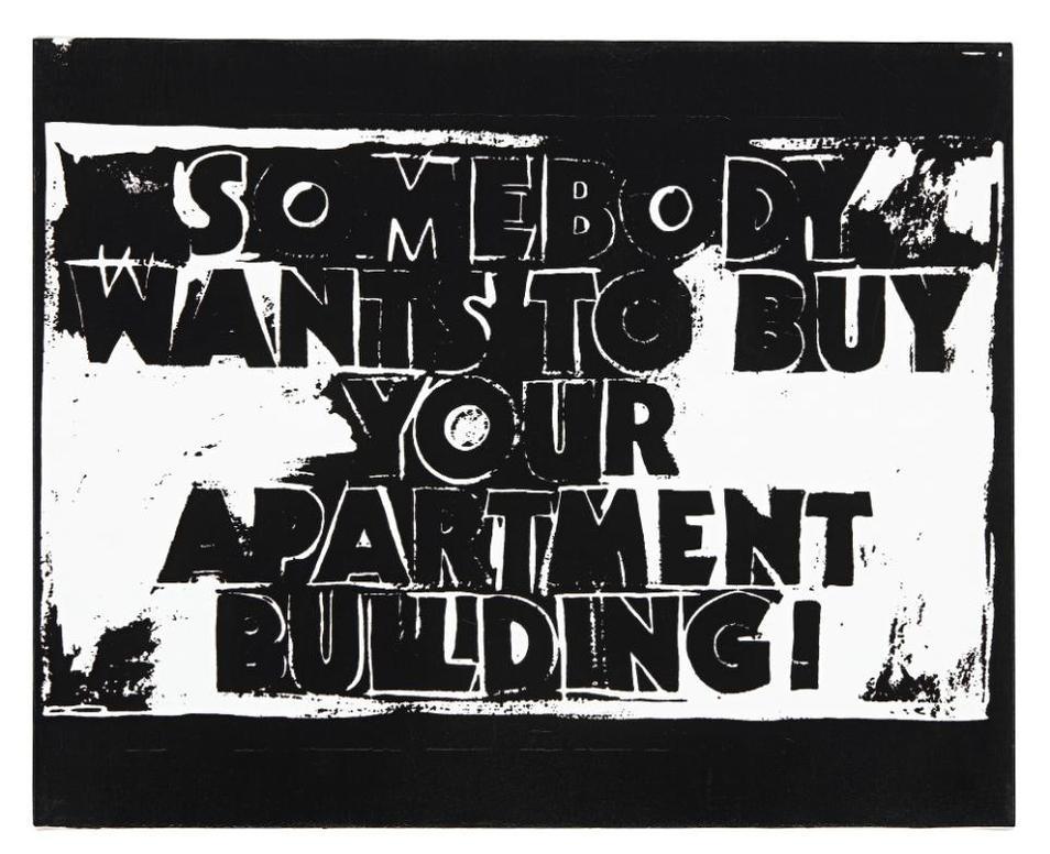 Andy Warhol-Dollar Sign-
