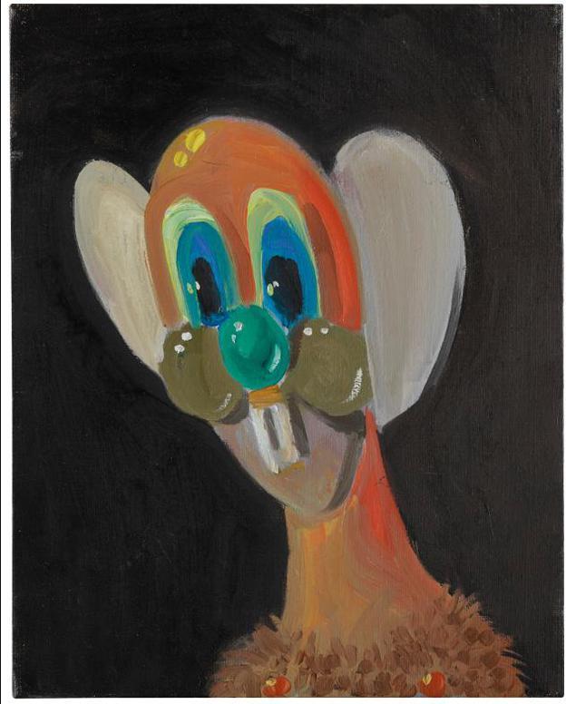 George Condo-Orange Pod-1997