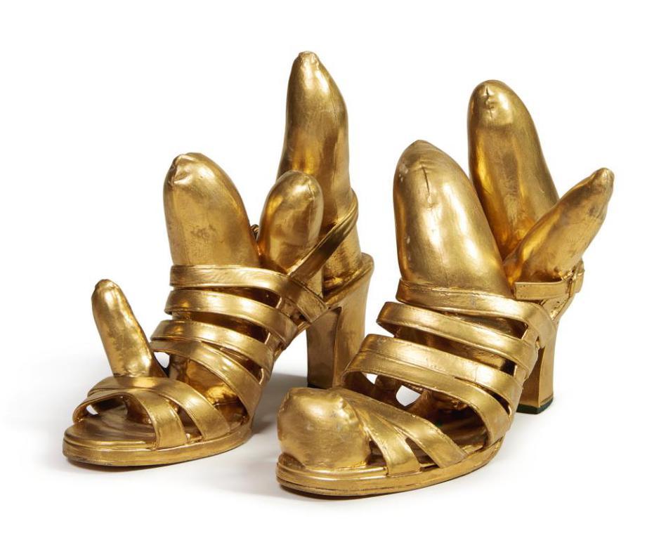 Yayoi Kusama-Phallus Shoes-2002