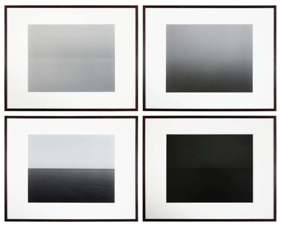 Hiroshi Sugimoto-I. Lake Superior, Cascade River II. North Pacific Ocean, Mt. Tamalpais III. Tyrrhenian Sea, Conca IV. Irish Sea, Isle Of Man Ii [4 Works]-1995