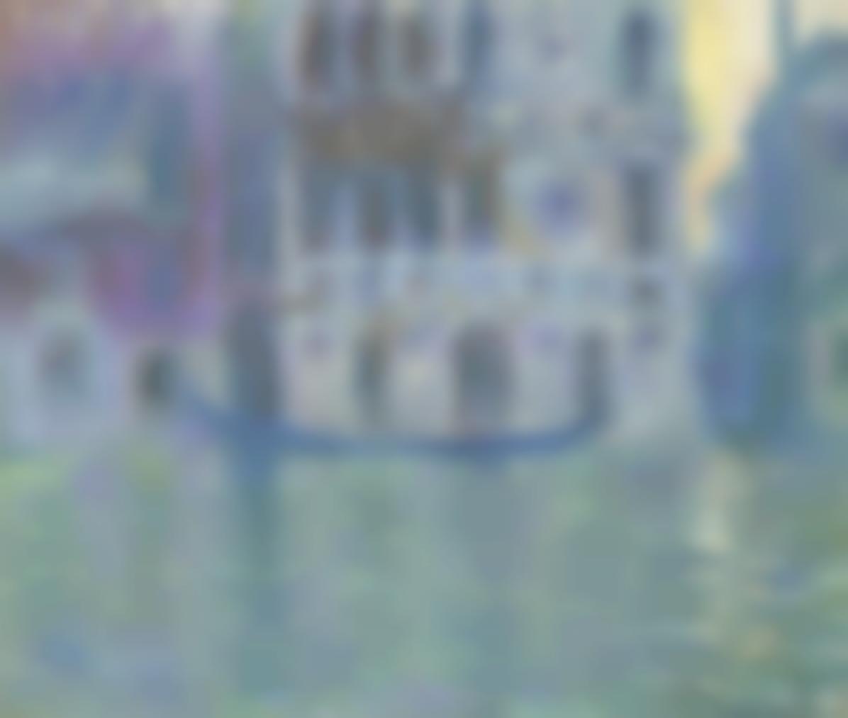 Claude Monet-Le Palais Dario-1908
