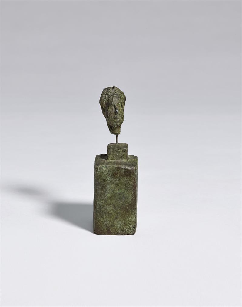 Alberto Giacometti-Simone De Beauvoir-1946