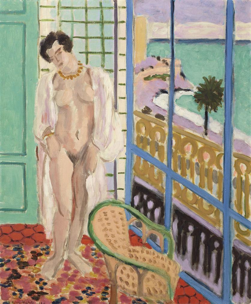 Henri Matisse-Nu A La Fenetre-1929