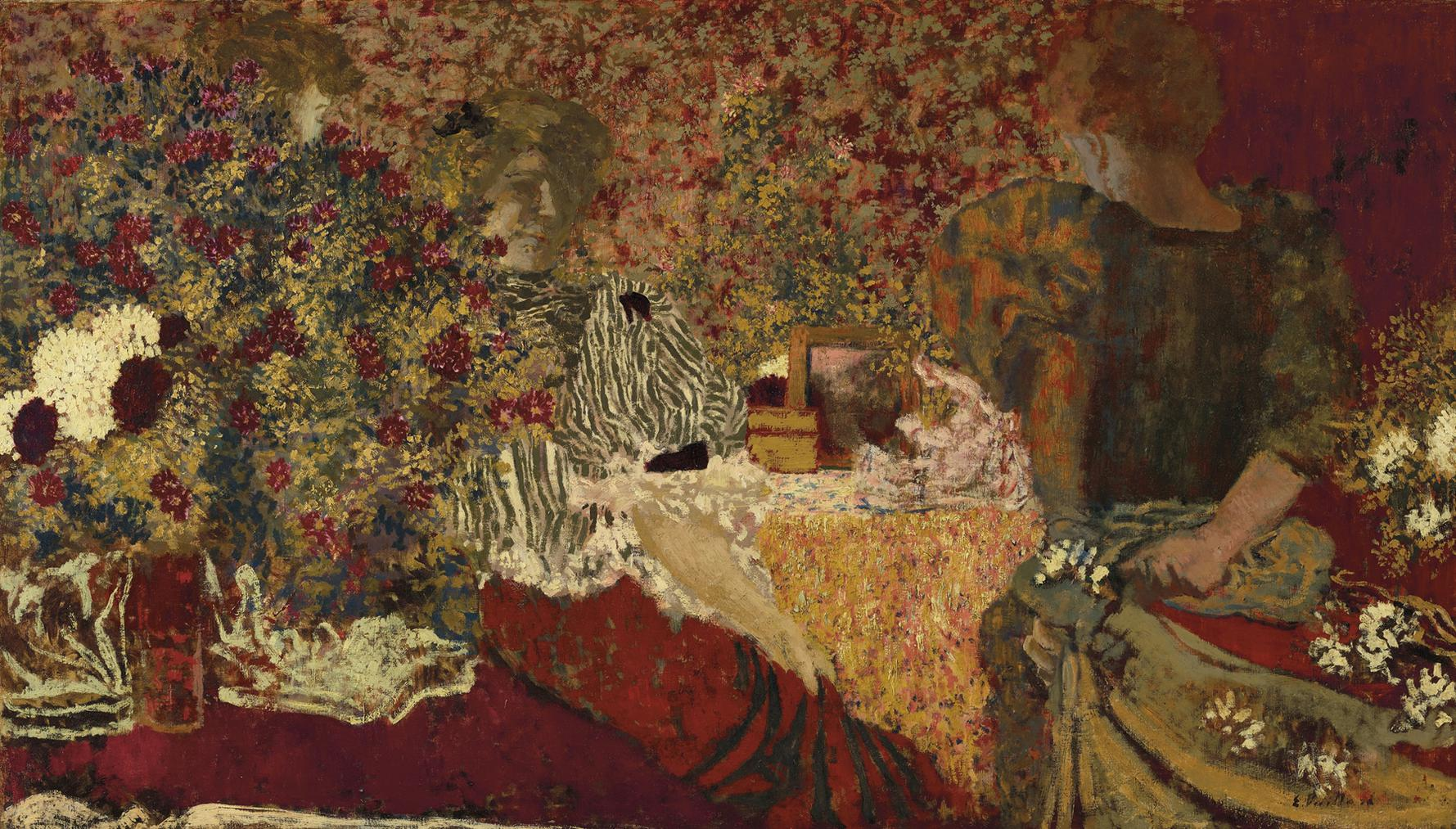 Edouard Vuillard-La Table De Toilette-1895