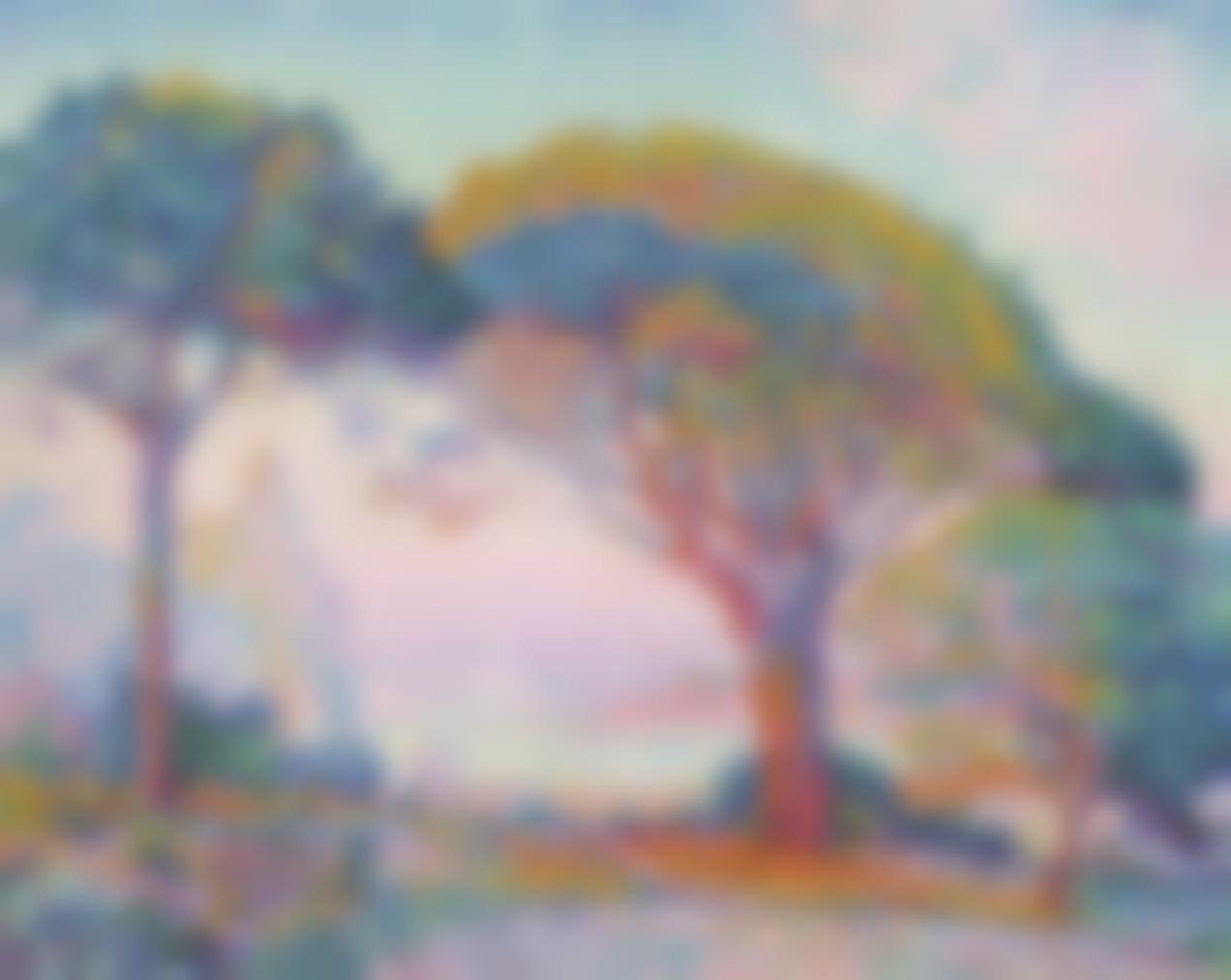 Paul Signac-La Baie (Saint-Tropez)-1907