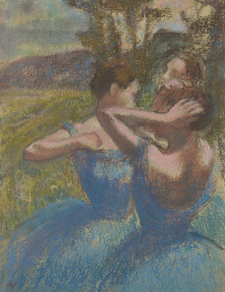 Edgar Degas-Trois Danseuses-1897