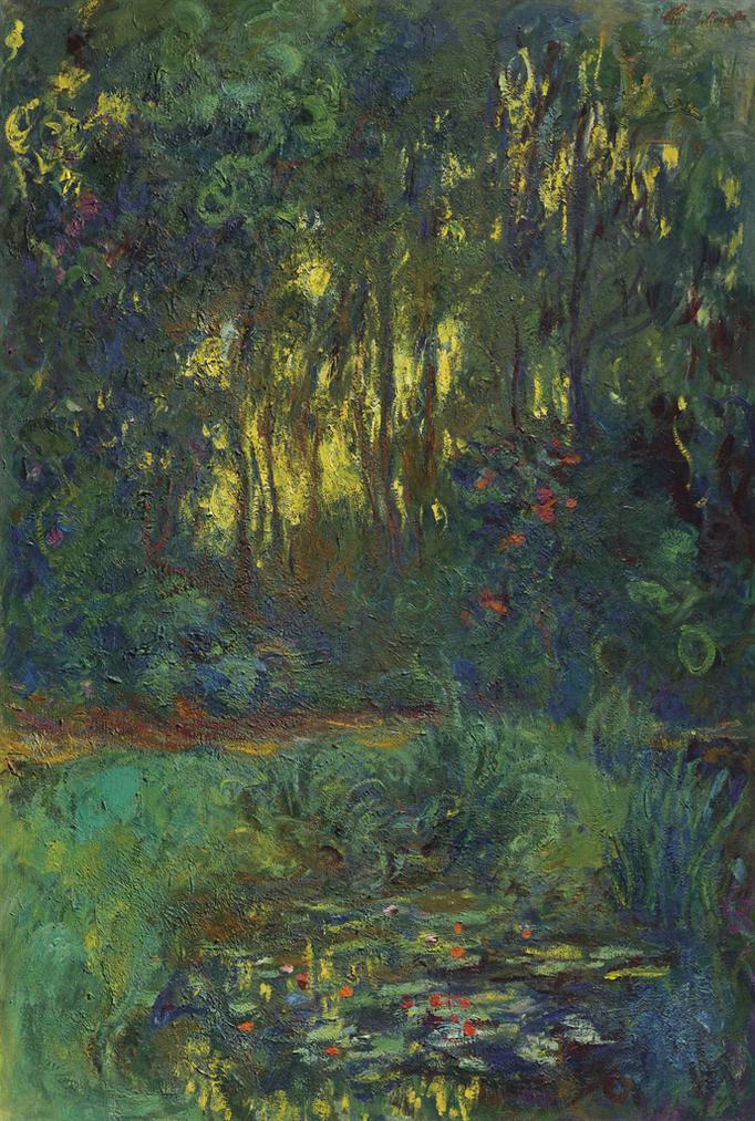 Claude Monet-Coin Du Bassin Aux Nympheas-1919