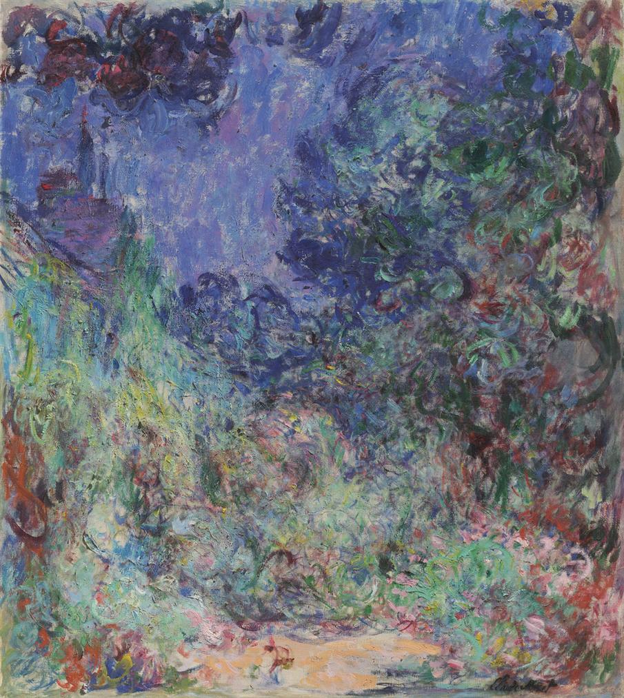 Claude Monet-La Maison Vue Du Jardin Aux Roses-1922