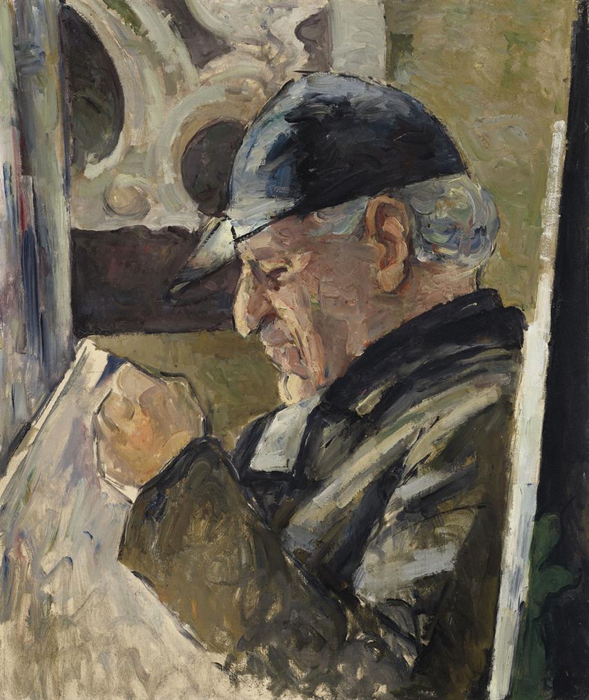 Paul Cezanne-Portrait De Louis-Auguste Cezanne, Pere De Lartiste-1870