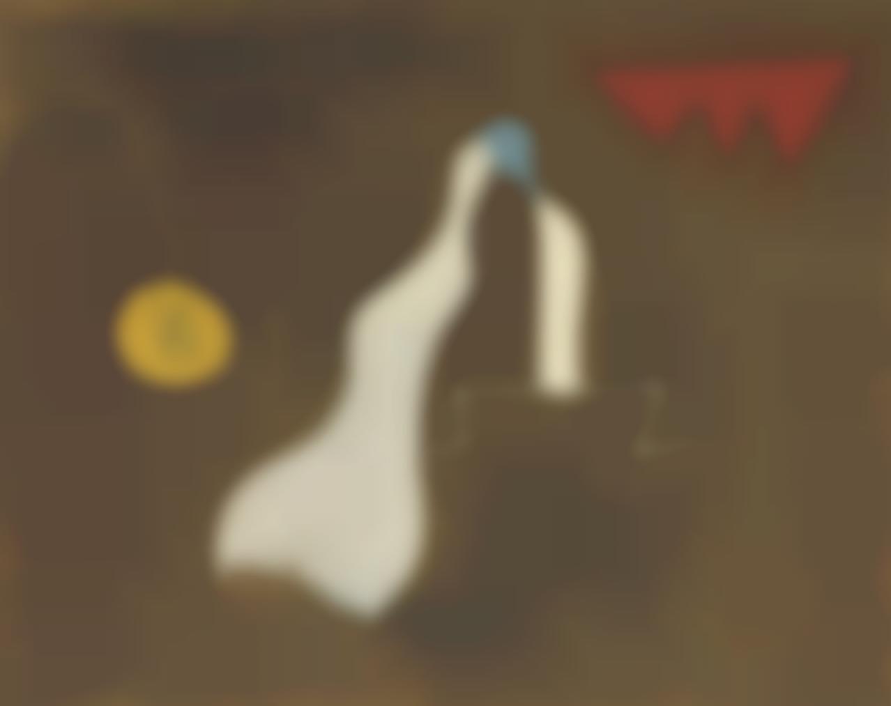Joan Miro-Peinture-Poeme (Bonheur Daimer Ma Brune)-1925