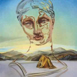 Salvador Dali-Naissance Dune Divinite-1960