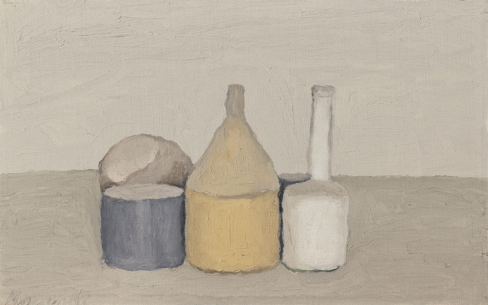 Giorgio Morandi-Natura Morta-1955