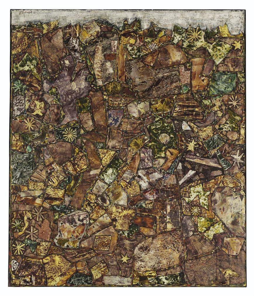 Jean Dubuffet-Paysage Aux Petits Meteores-1956