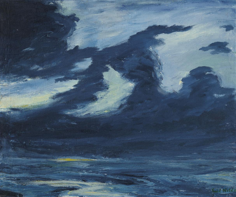 Emil Nolde-Herbstmeer Xvii-1911