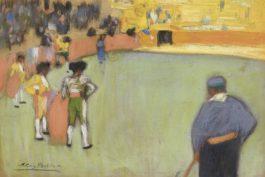 Pablo Picasso-Course De Taureaux-1900