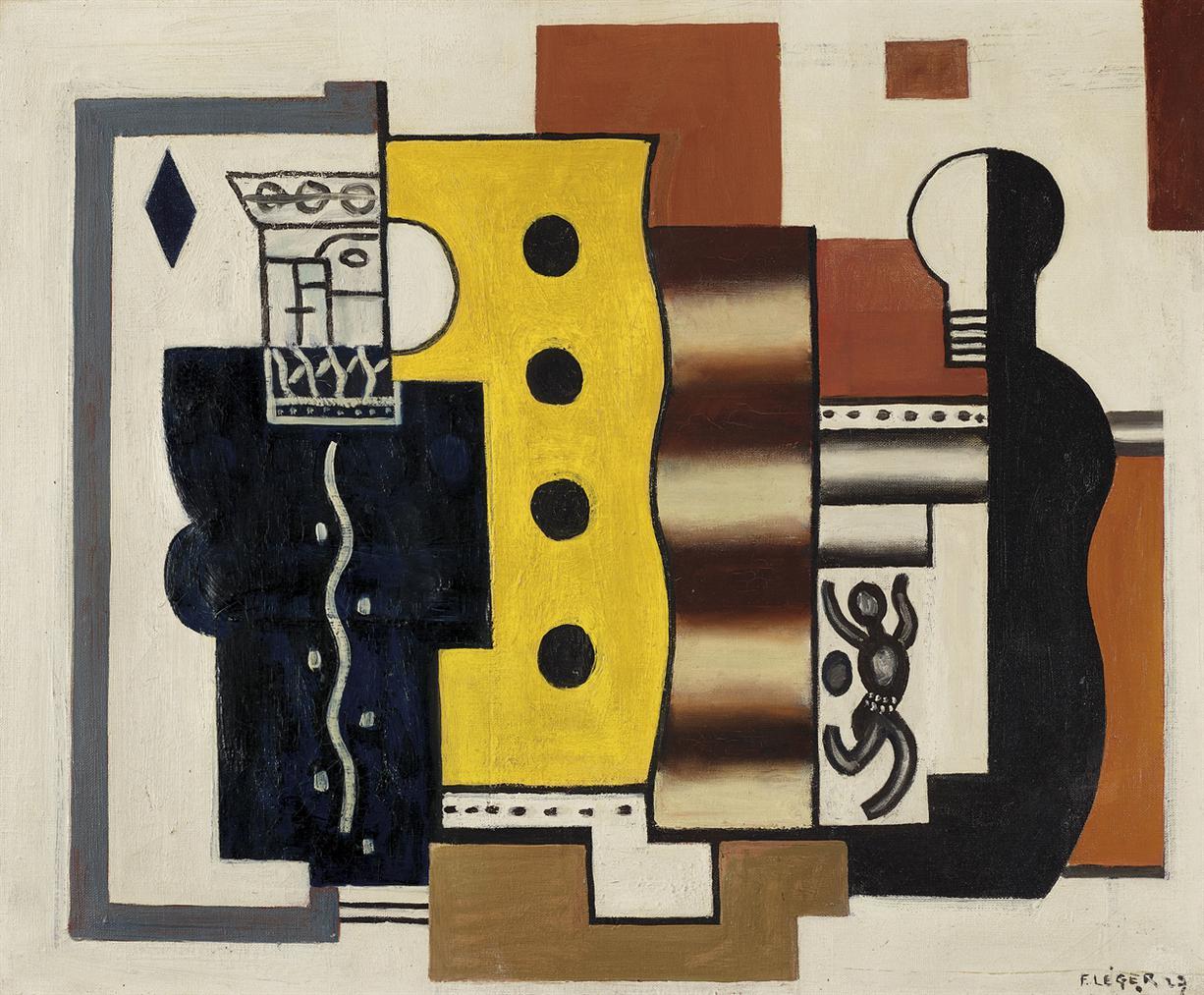 Fernand Leger-Nature Morte (Le Roi De Cartes)-1927