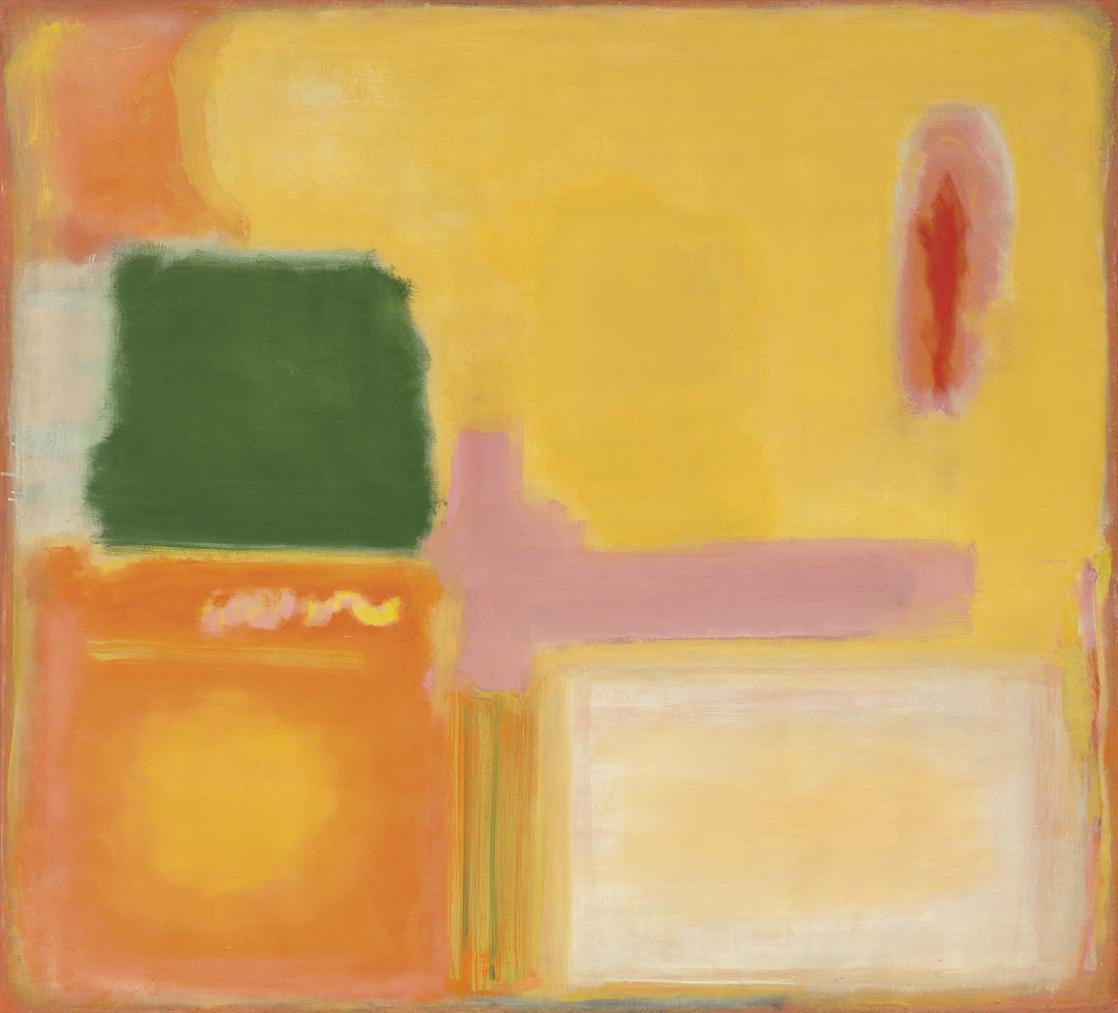 Mark Rothko-No. 16/No. 12 (Mauve Intersection)-1949