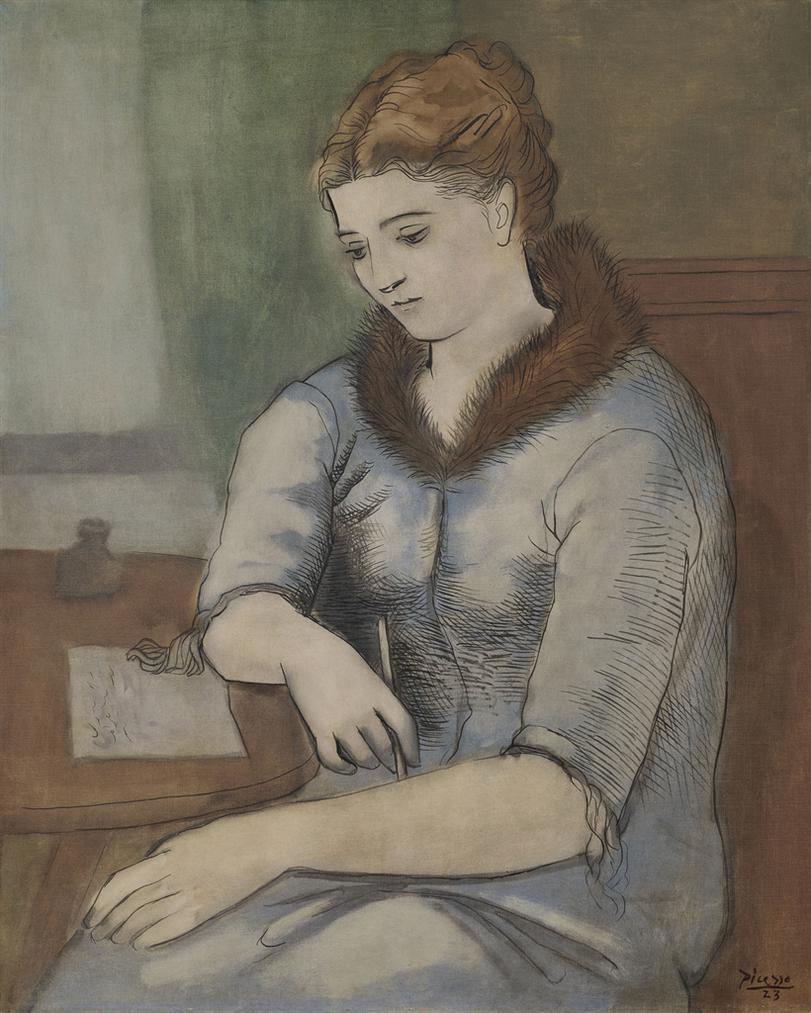 Pablo Picasso-La Lettre (La Reponse)-1923