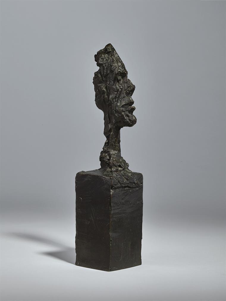 Alberto Giacometti-Tete De Diego Sur Socle-1962