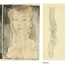 Hans Bellmer-Sans Titre (Recto And Verso)-1945
