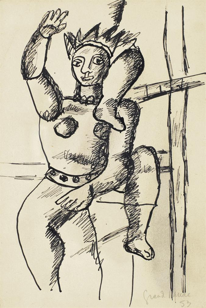 Fernand Leger-Acrobat-1953