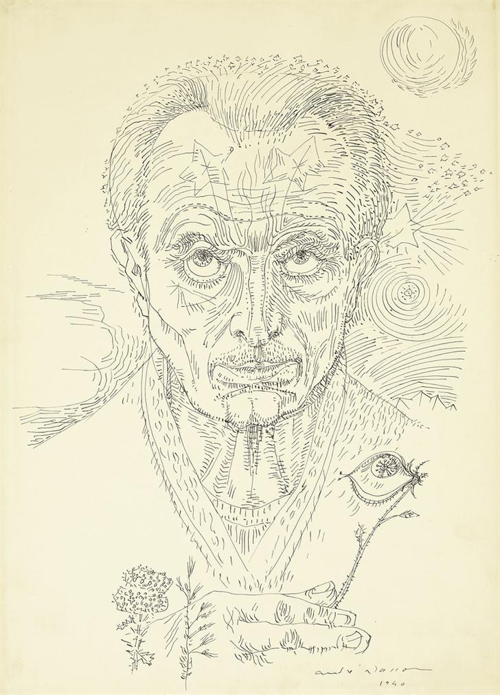 Andre Masson-Le Philosophe-1940