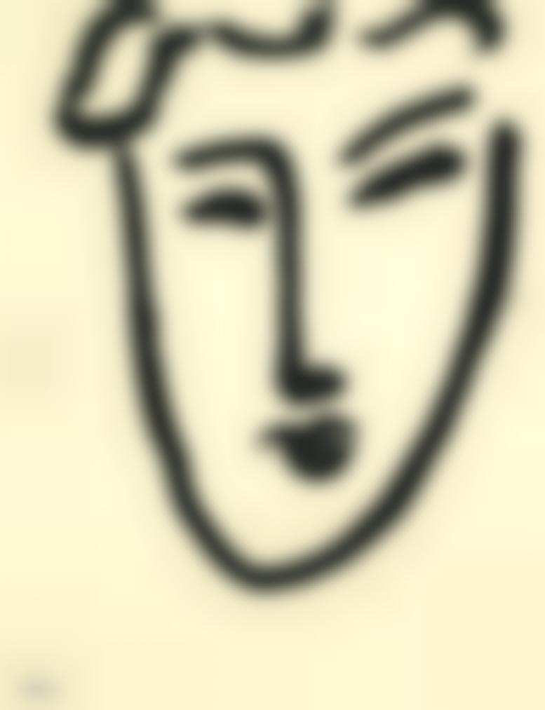 Henri Matisse-Petite Tete-1951