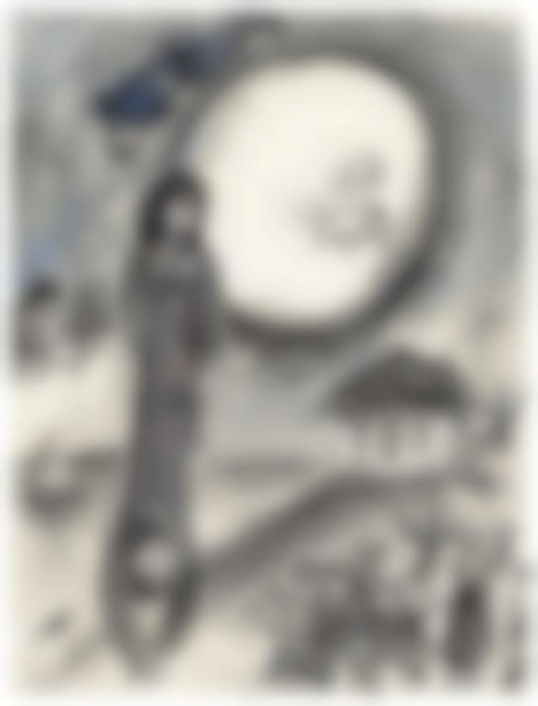 Marc Chagall-Autour De Daphnis Et Chloe Pour Le Plafond De Lopera-1968