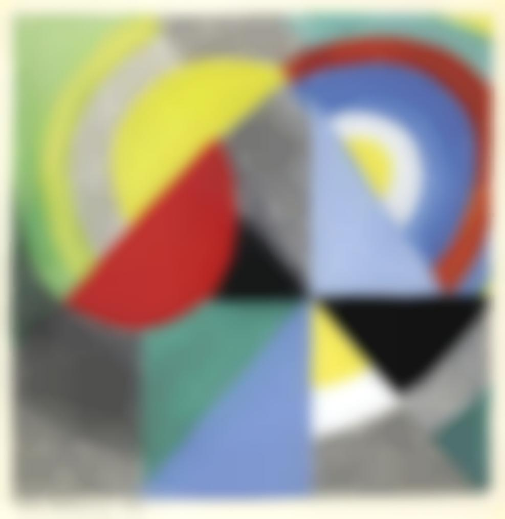 Sonia Delaunay-Rythme Colore-1959