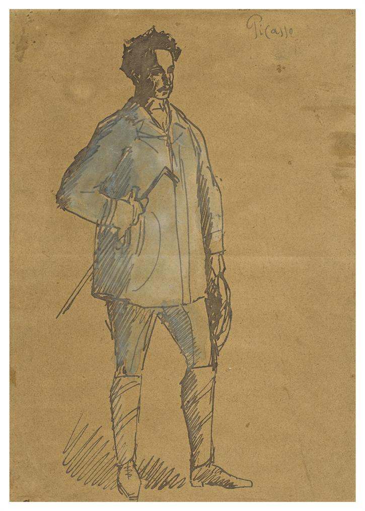 Pablo Picasso-Portrait Du Tailleur Soler-1903