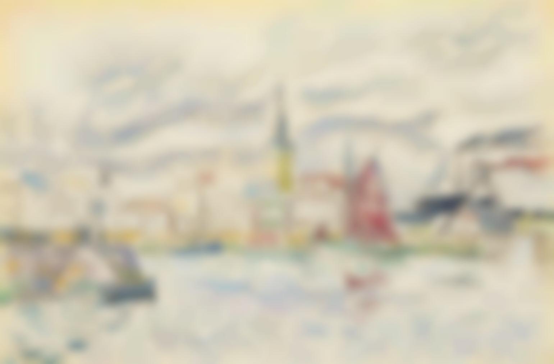 Paul Signac-Les Sables-Dolonne-1929