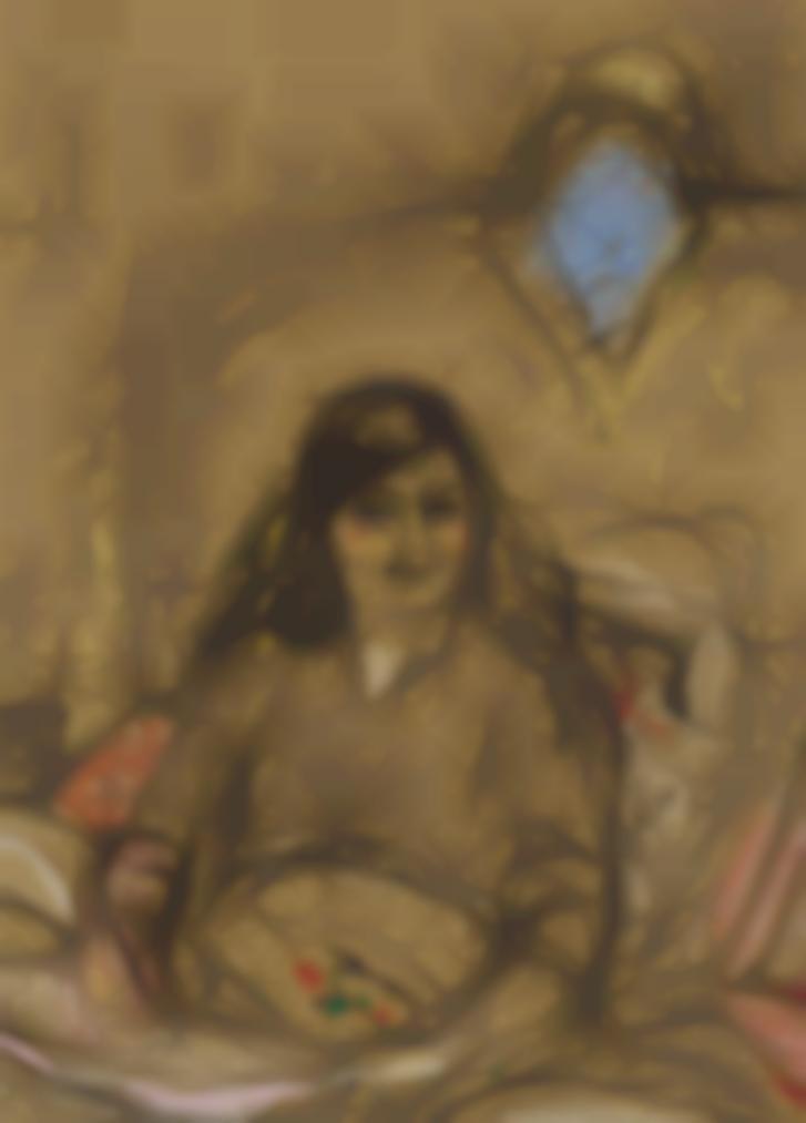 Edouard Vuillard-Etude Pour Le Portrait De La Comtesse Anna De Noailles-1931