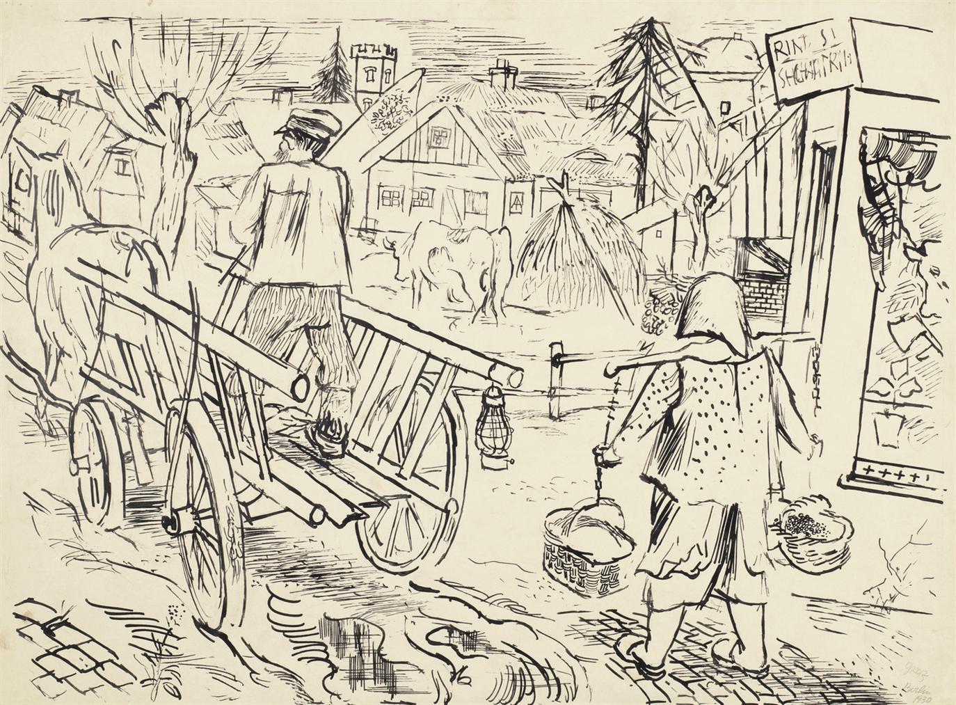 George Grosz-Prerow-1930