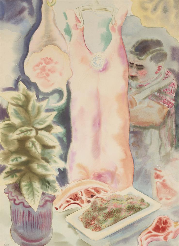 George Grosz-Fleischer-1930
