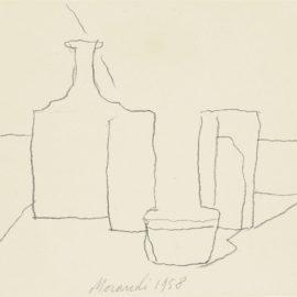 Giorgio Morandi-Natura Morta-1958