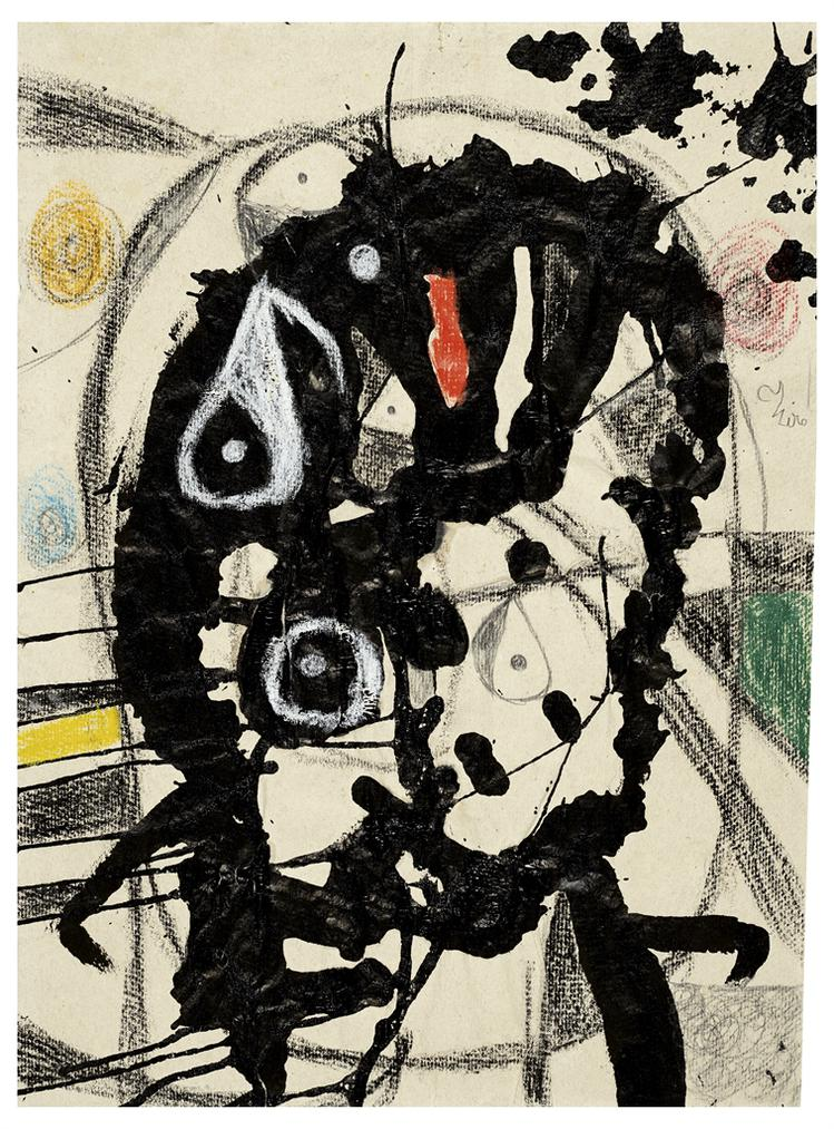 Joan Miro-Tete-1980