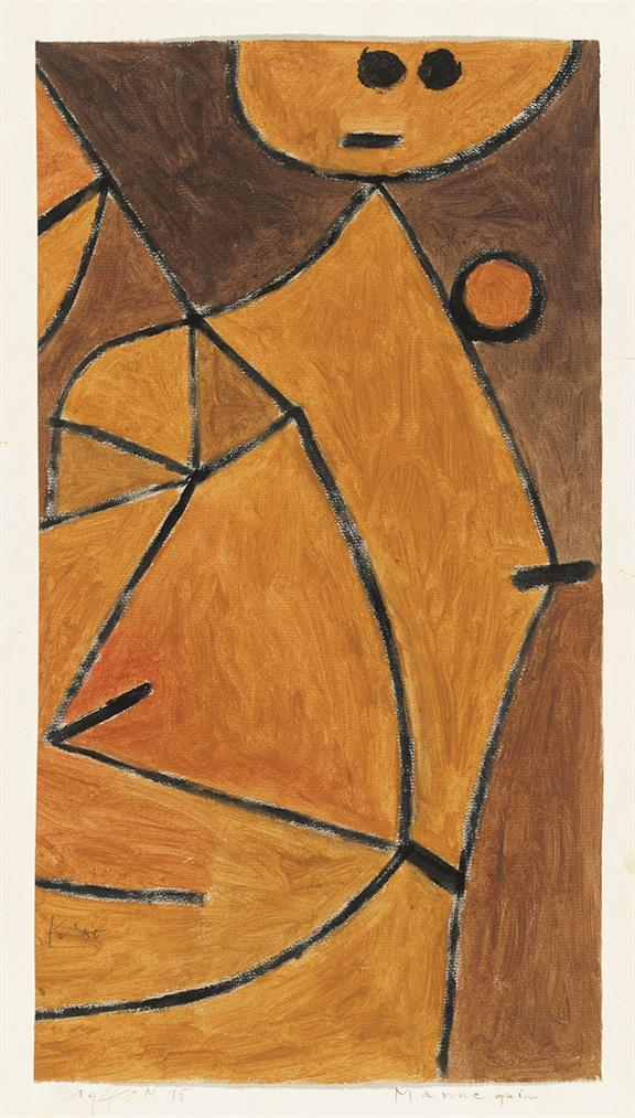 Paul Klee-Mannequin-1940