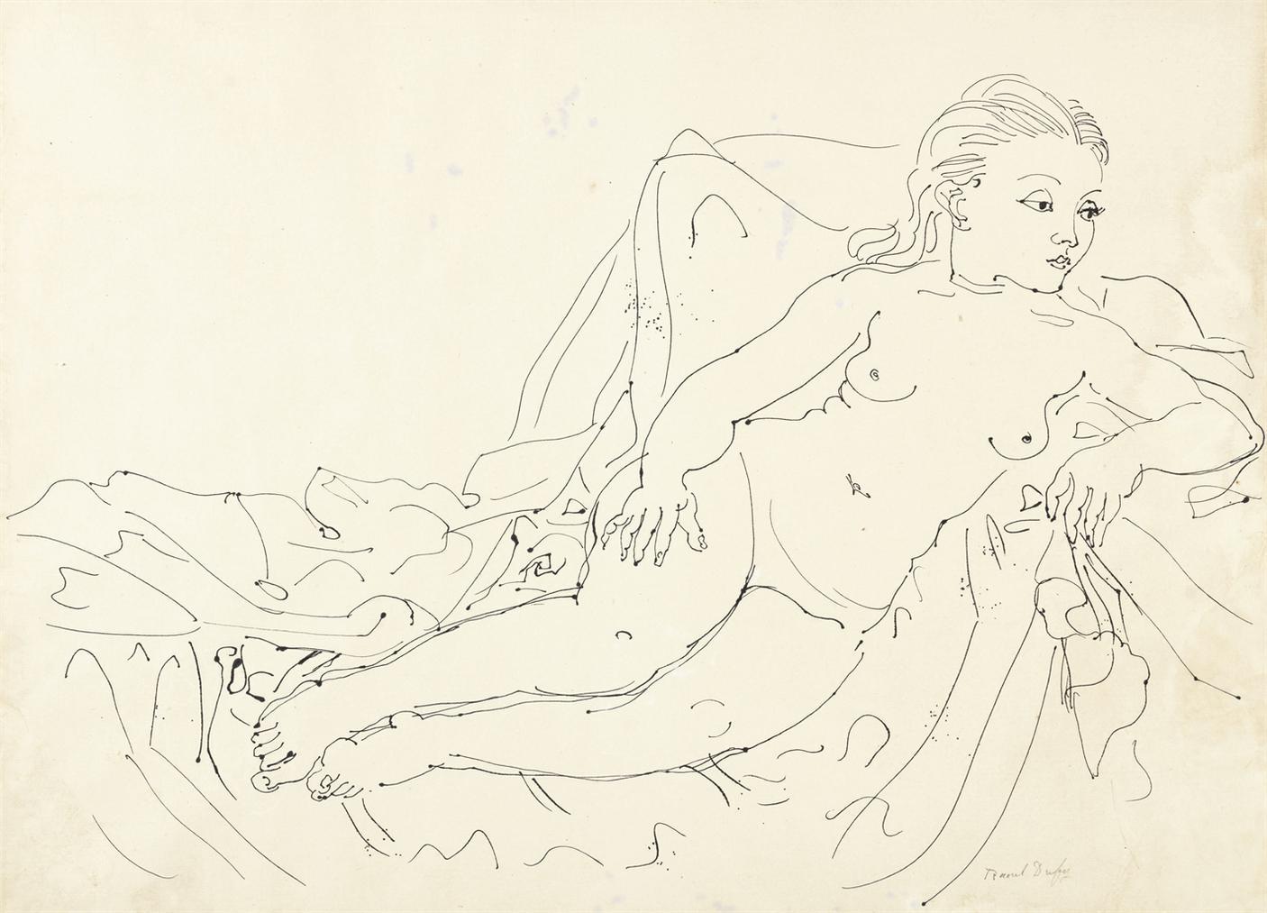 Raoul Dufy-Nu-1929