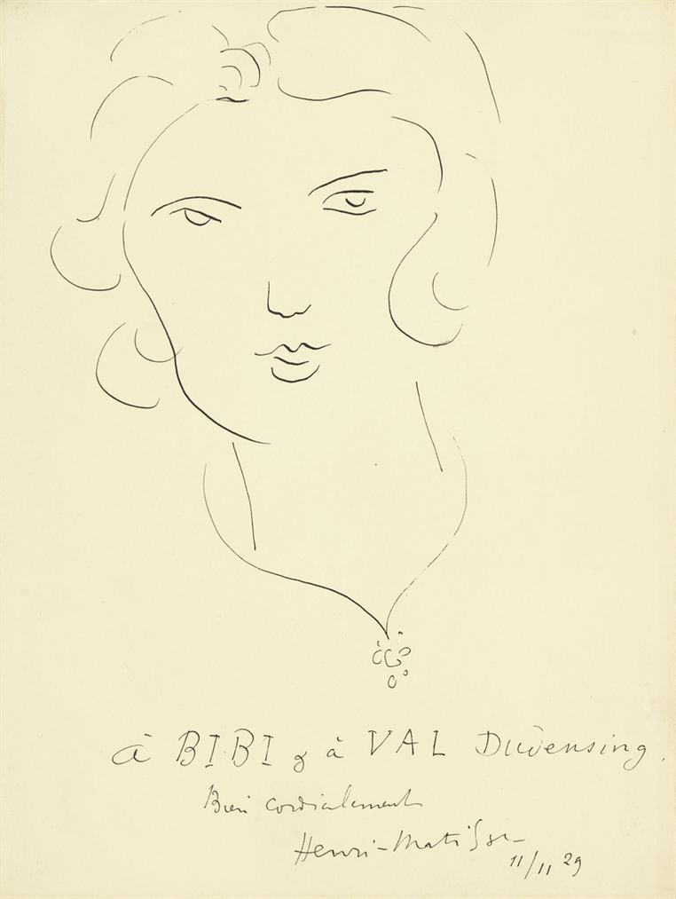 Henri Matisse-Portrait De Margaret (Bibi)-1929