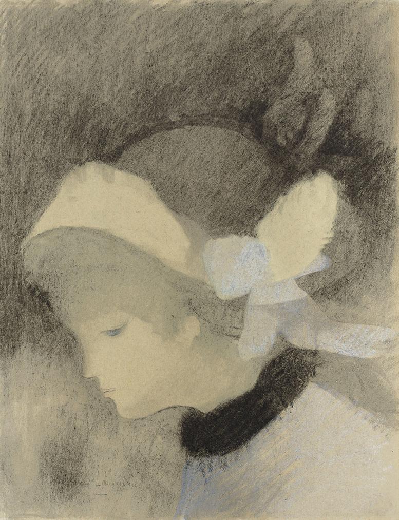 Marie Laurencin-Tete De Femme-