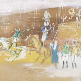 Jean Dufy-Le Cirque