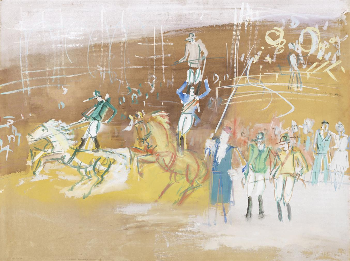 Jean Dufy-Le Cirque-