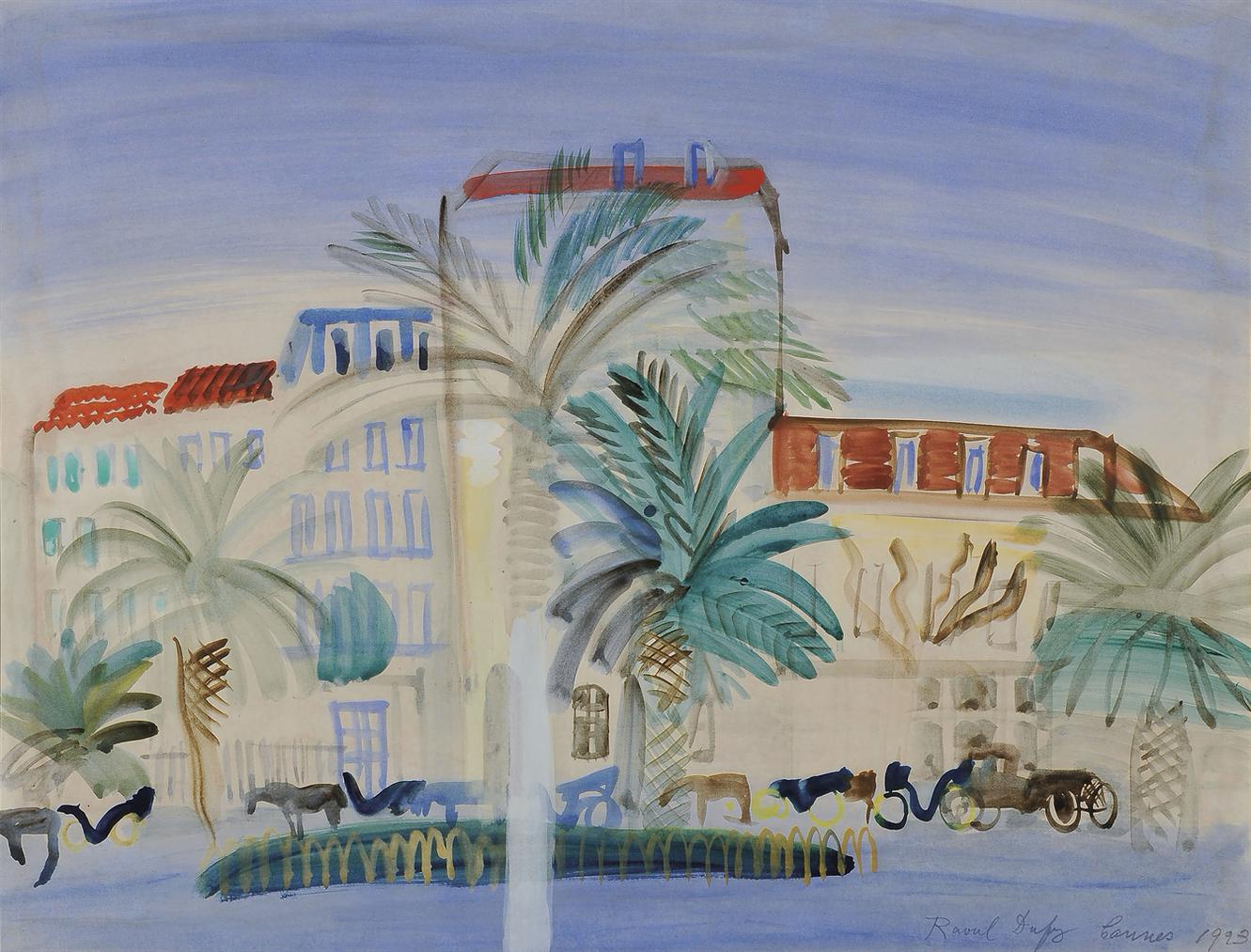 Raoul Dufy-Hotel A Cannes-1925